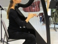 Harp workshop at Place des Arts