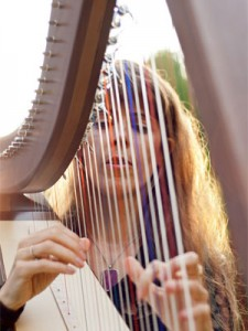 Harpist for Weddings