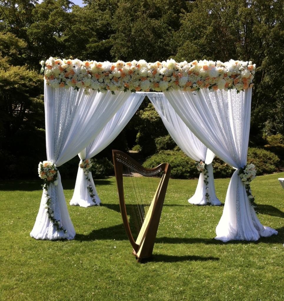 Harpist for wedding ceremonies